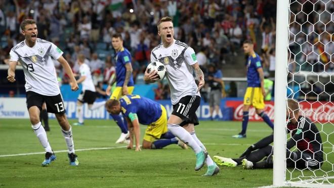 Marco Reus gỡ hòa, thắp hy vọng cho Đức