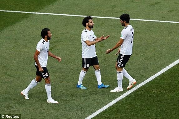 Salah ghi bàn nhưng một lần nữa không đủ giúp Ai Cập chiến thắng