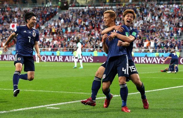 Nhật Bản vẫn là lá cờ đầu của châu Á ở Mundial năm nay