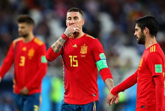 Tây Ban Nha dễ dàng hơn một chút so với Bồ Đào Nha khi gặp chủ nhà Nga