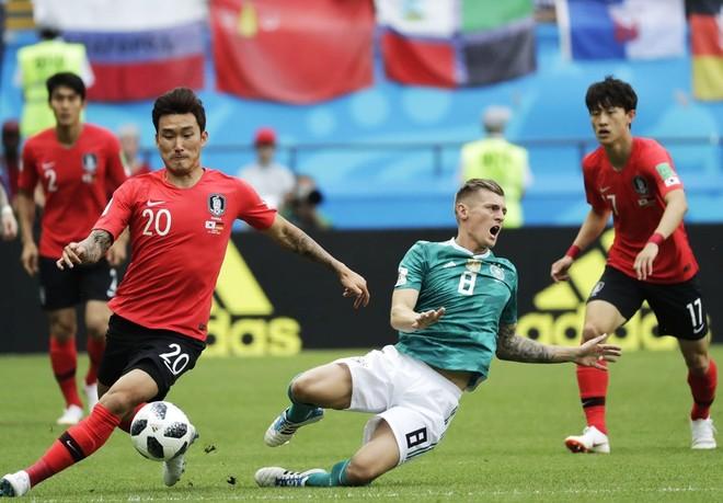 Đức trải qua một trận đấu tệ hại