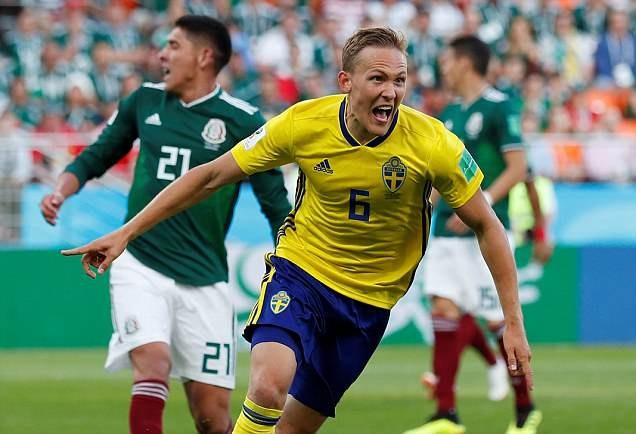 Thụy Điển giành ngôi đầu bảng đầy bất ngờ