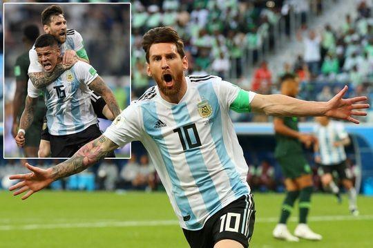 """Thắng Nigeria và đi tiếp chẳng khác nào Argentina """"trở về từ cõi chết"""""""