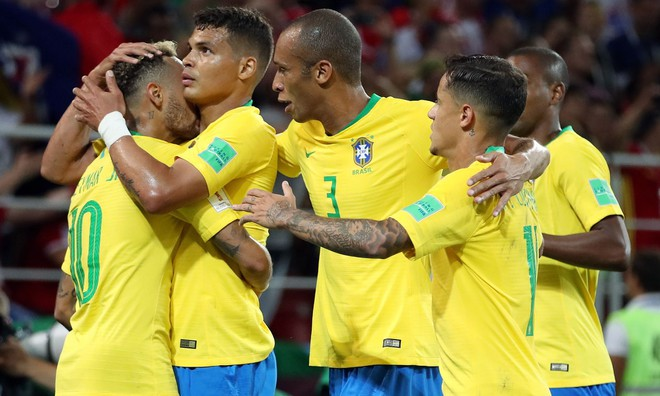 Brazil sẽ chỉ phải gặp Mexico ở vòng 1/8
