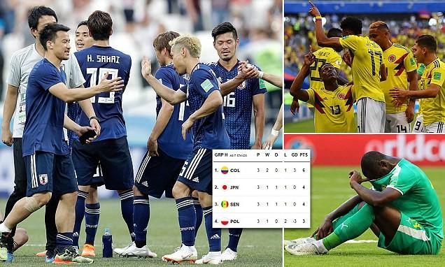 Nhật Bản chấp nhận chơi lầy vì tấm vé đi tiếp