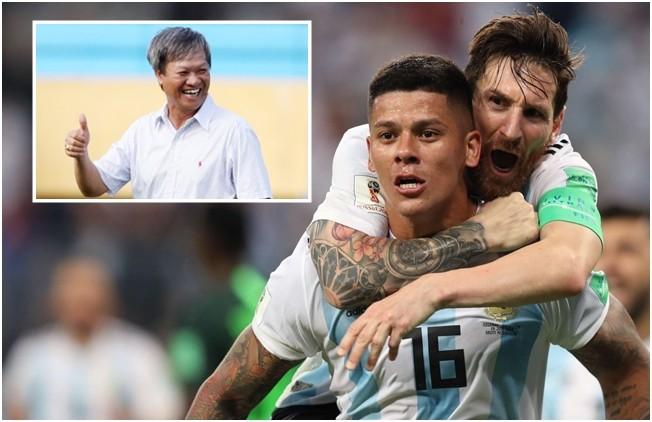 HLV Lê Thụy Hải tin rằng Argentina chưa dừng lại ở vòng 1/8