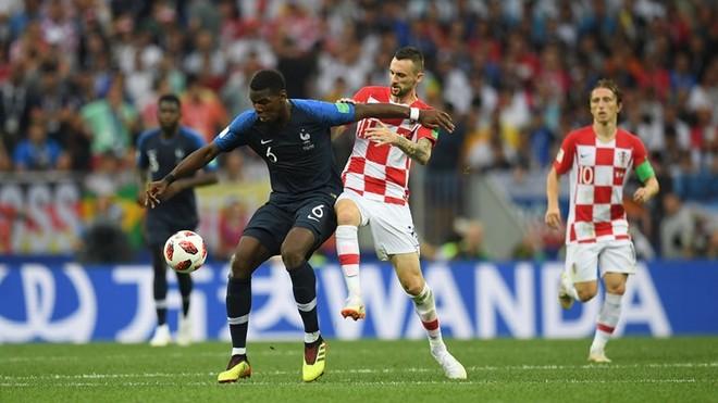 Croatia (áo carô) khởi đầu tốt hơn so với Pháp