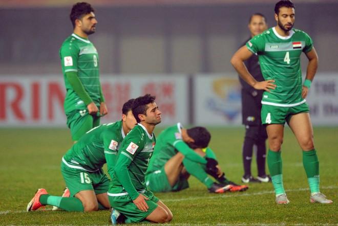 Bóng đá Iraq đang trải qua biến cố lớn