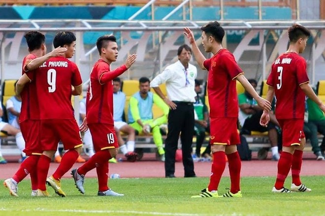 Mọi chuyện đã diễn ra rất suôn sẻ với U23 Việt Nam từ những phút đầu tiên