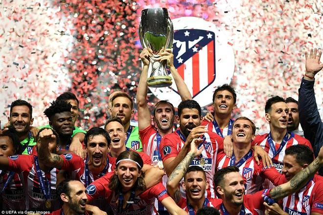 Đây là lần thứ 3 đội bóng của Diego Simeone giành Siêu cúp châu Âu