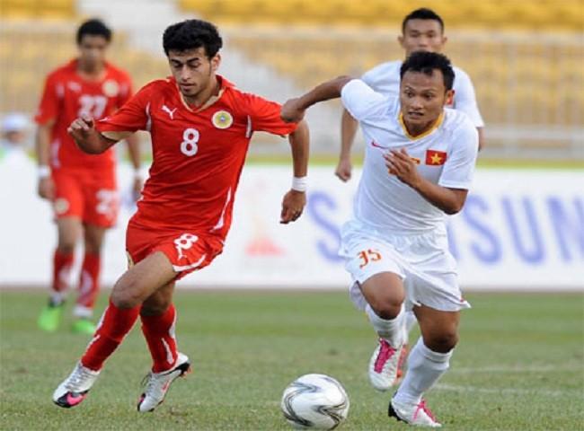 Việt Nam (phải) từng thắng Bahrain ở ASIAD 2010