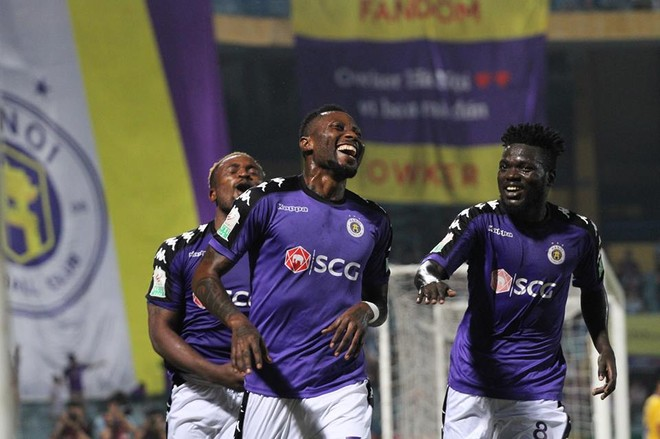 Hà Nội FC trải qua một mùa giải cực kỳ thăng hoa (Ảnh: Thuần Thư)