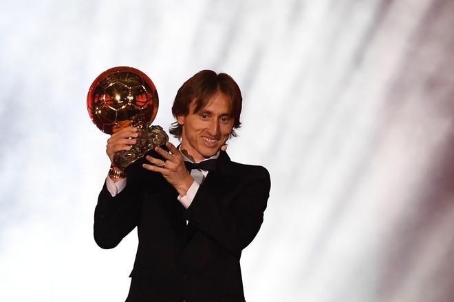 Modric và danh hiệu Quả bóng Vàng để đời ở tuổi 33