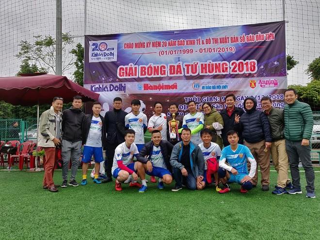 Đội bóng báo An ninh Thủ đô và chiếc cúp vô địch