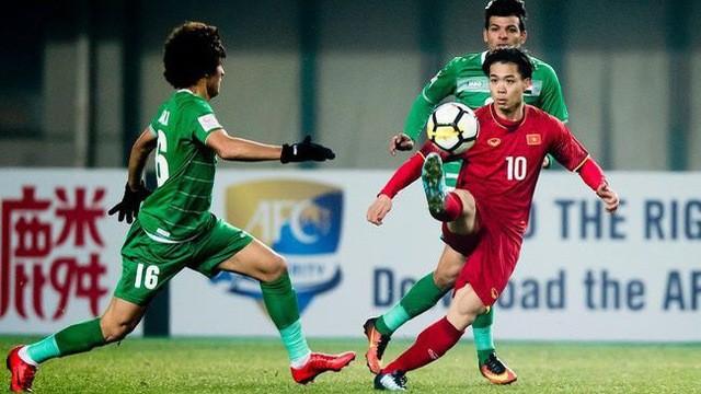 Việt Nam từng loại Iraq ở giải U23 châu Á 2018