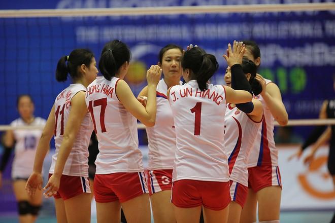 Tuyển nữ Triều Tiên vô địch giải bóng chuyền Quốc tế tại Bắc Ninh ảnh 6