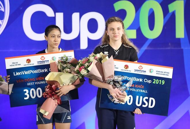 Tuyển nữ Triều Tiên vô địch giải bóng chuyền Quốc tế tại Bắc Ninh ảnh 8