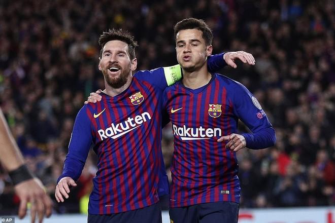 Với Messi, Barca đã sẵn sàng chinh phục Champions League mùa này