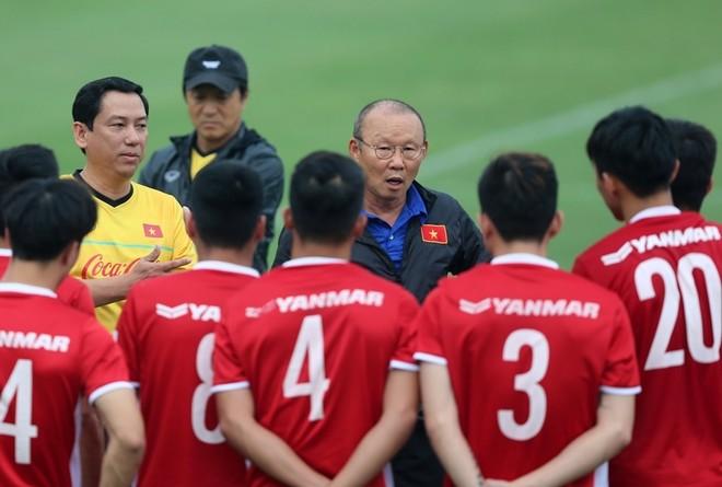 Cuối năm 2019 là khoảng thời gian vô cùng bận rộn với HLV Park Hang-seo