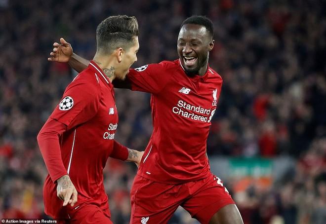 Liverpool coi như đã đặt một chân vào bán kết