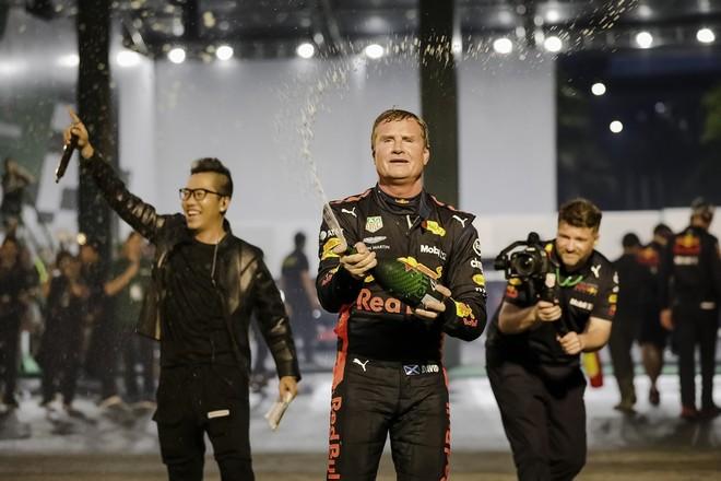 Huyền thoại làng đua F1 thế giới David Coulthard