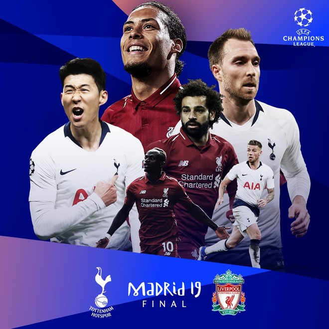 Liverpool và Tottenham tạo nên trận chung kết đáng chờ đợi ở Madrid