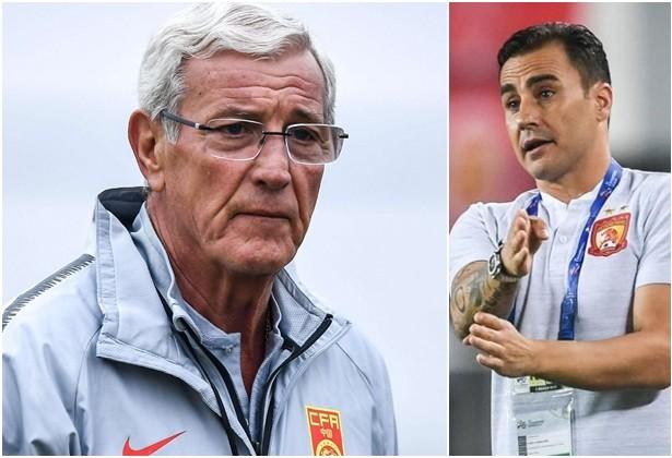 Hai thầy trò Lippi và Cannavaro thay nhau nắm ĐT Trung Quốc thời gian qua