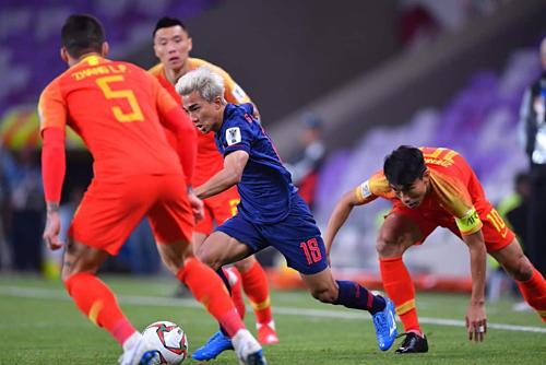 ĐT Trung Quốc từng thua ĐT Thái Lan 0-1 trên sân nhà hồi tháng 3-2019
