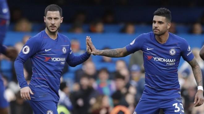 Hazard và Emerson ngày còn là đồng đội