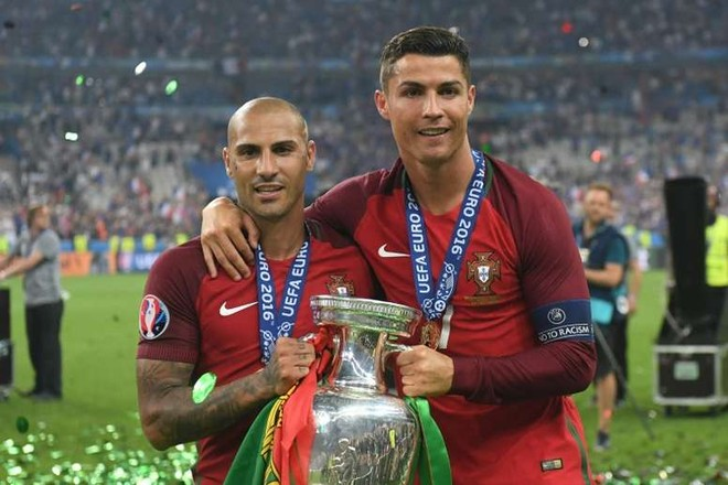 Quaresma và Ronaldo cùng nhau vô địch EURO 2016