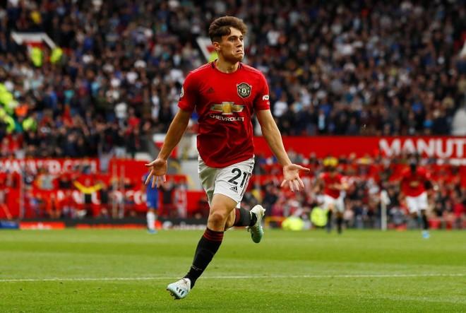Daniel James ghi bàn trên sân nhà ngay trong trận ra mắt M.U ở Ngoại hạng Anh