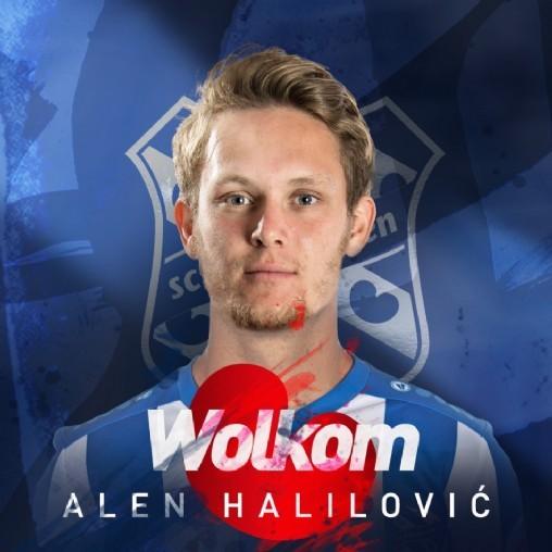 Halilovic trở thành tân binh cuối cùng của Heerenveen trong mùa hè năm nay