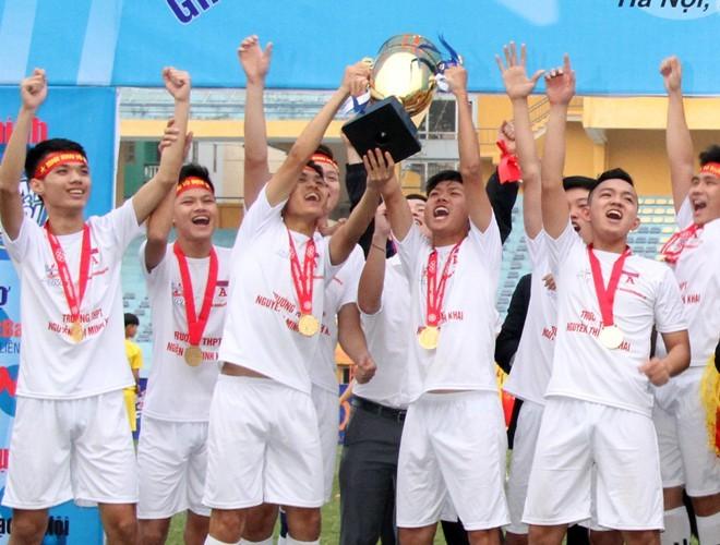 THPT Nguyễn Thị Minh Khai đã sở hữu 3 danh hiệu vô địch tại giải