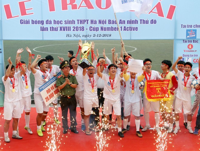 THPT Trương Định là nhà vô địch gần nhất của giải