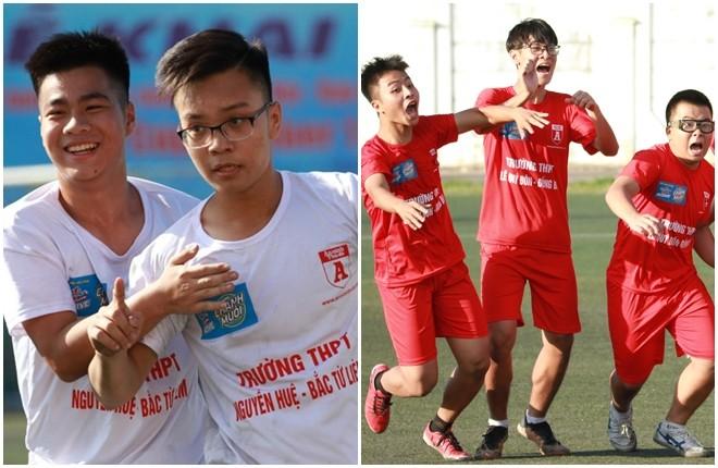 THPT Nguyễn Huệ và THPT Lê Quý Đôn đều hạ các đội nhất bảng để đi tiếp