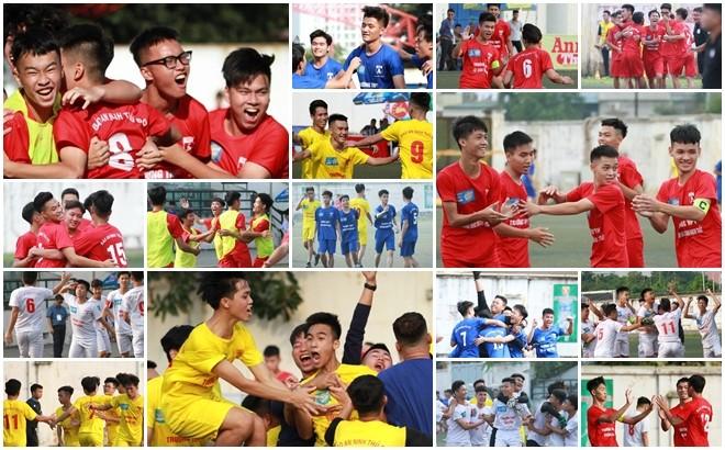 16 đội góp mặt ở vòng 1/8 mùa 2019