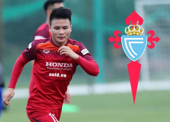 Tài năng của Quang Hải thu hút sự chú ý của Celta Vigo