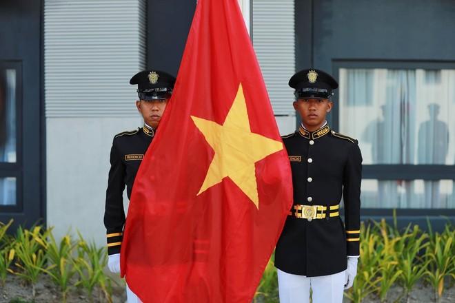 Quốc kỳ Việt Nam trong Lễ thượng cờ SEA Games 30