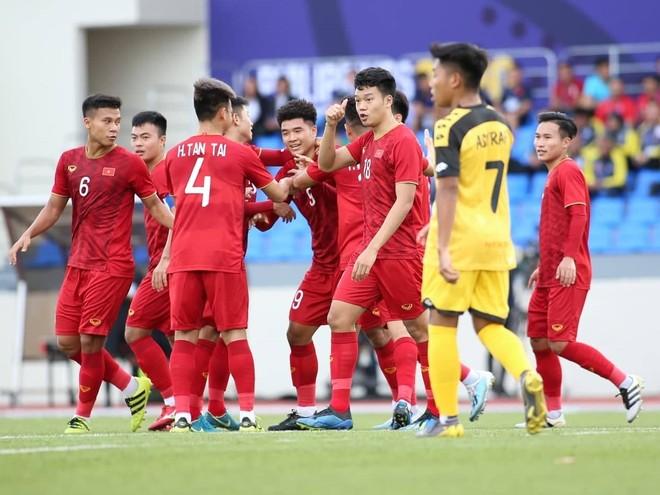 Gặp U22 Singapore là trận đấu áp chót vòng bảng của U22 Việt Nam, trước khi gặp U22 Thái Lan