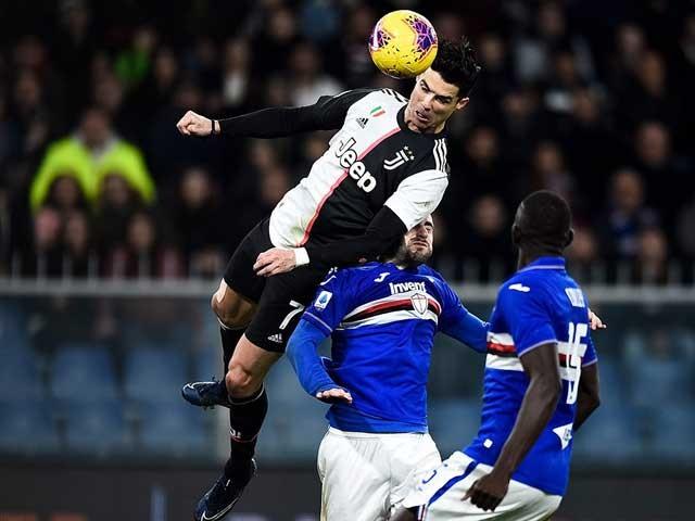 Bàn thắng sau pha bật cao 2m56 khiến CĐV trầm trồ của Ronaldo