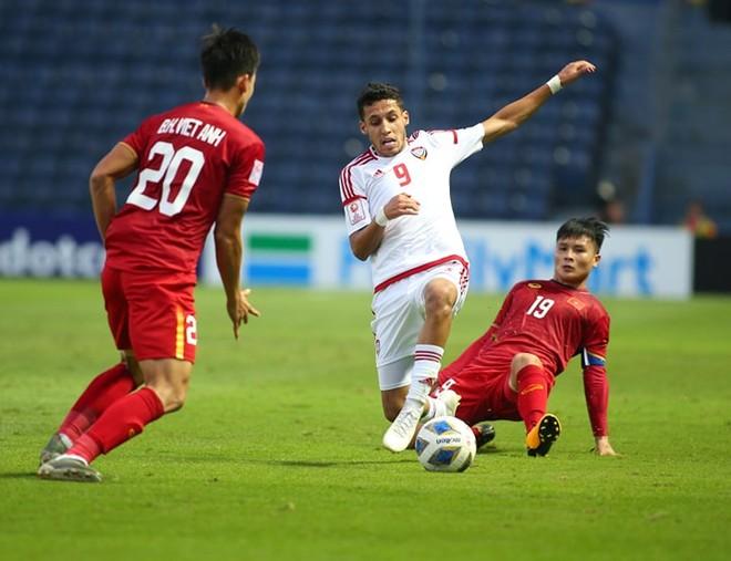 UAE chiếm ưu thế trong cả hai hiệp đấu