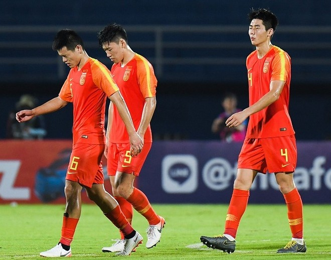 U23 Trung Quốc thất bại bẽ bàng ở giải U23 châu Á 2020