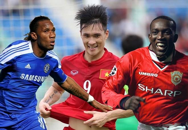 Công Vinh sắp sánh vai cùng hai trong những chân sút vĩ đại nhất Premier League là Drogba và Yorke?