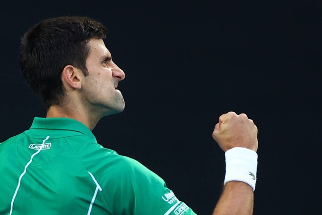 ... nhưng Djokovic vẫn lần thứ 8 vô địch Úc Mở rộng