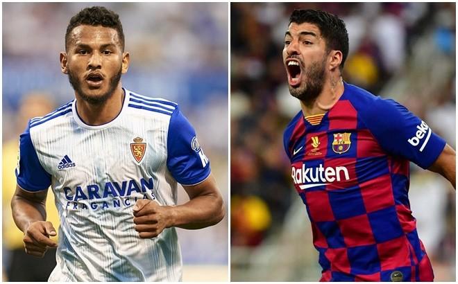 """Luis Suarez 22 tuổi (trái) là mục tiêu mà Barca nhắm để thay Luis Suarez """"xịn"""""""