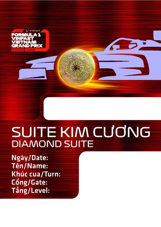 Xem các mẫu thiết kế vé đầy tinh hoa của chặng đua F1 Hà Nội ảnh 4