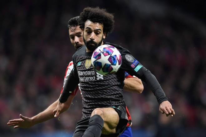 Salah và đồng đội bất lực trước hàng phòng ngự đối phương