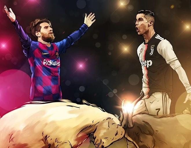 Messi và Ronaldo tiếp tục cho thấy họ là kỳ phùng địch thủ