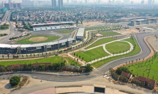 Đường đua Công thức 1 Hà Nội chính thức hoàn thành