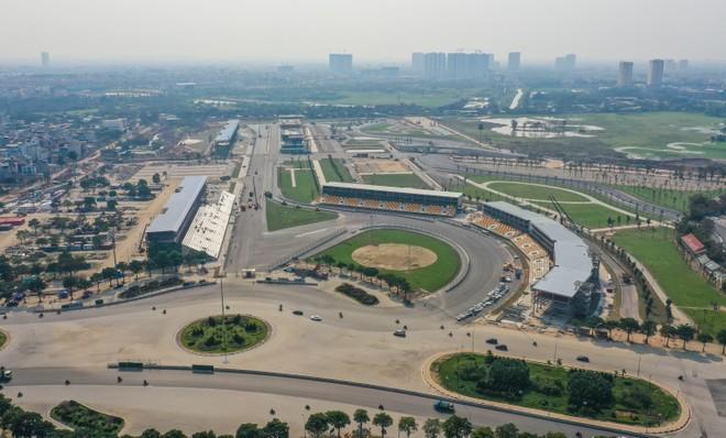 Một góc nhìn khác về đường đua F1 Hà Nội